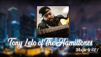 Tony Lelo of The Hamiltones