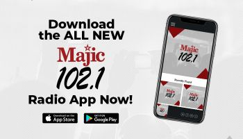 Download The New Majic 102.1 App