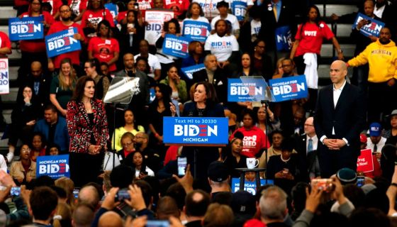 Joe Biden Selects Sen. Kamala