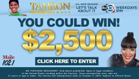 Tamron Hall Sweepstakes Dynamic Lead