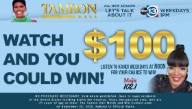 Tamron Hall Watch & Win